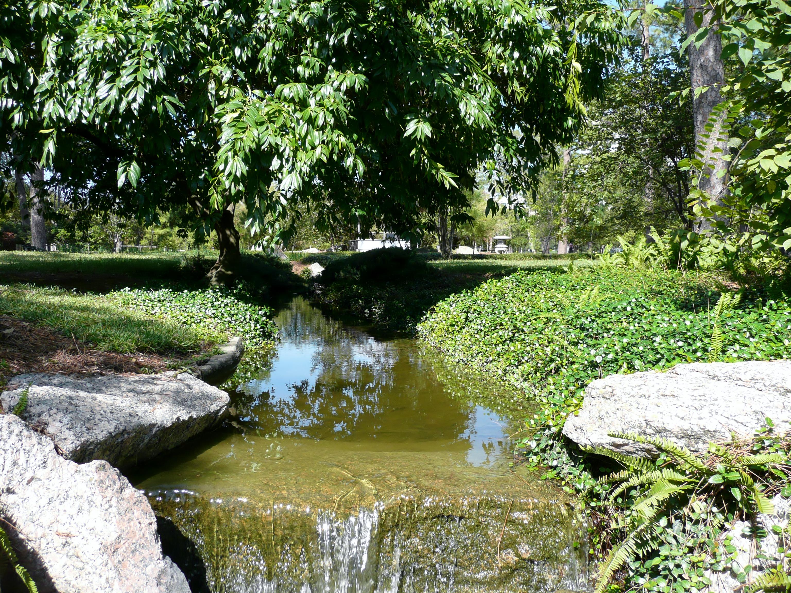 Japanese Garden Teahouse At Hermann Park In Houston Shiteki Na Usagi